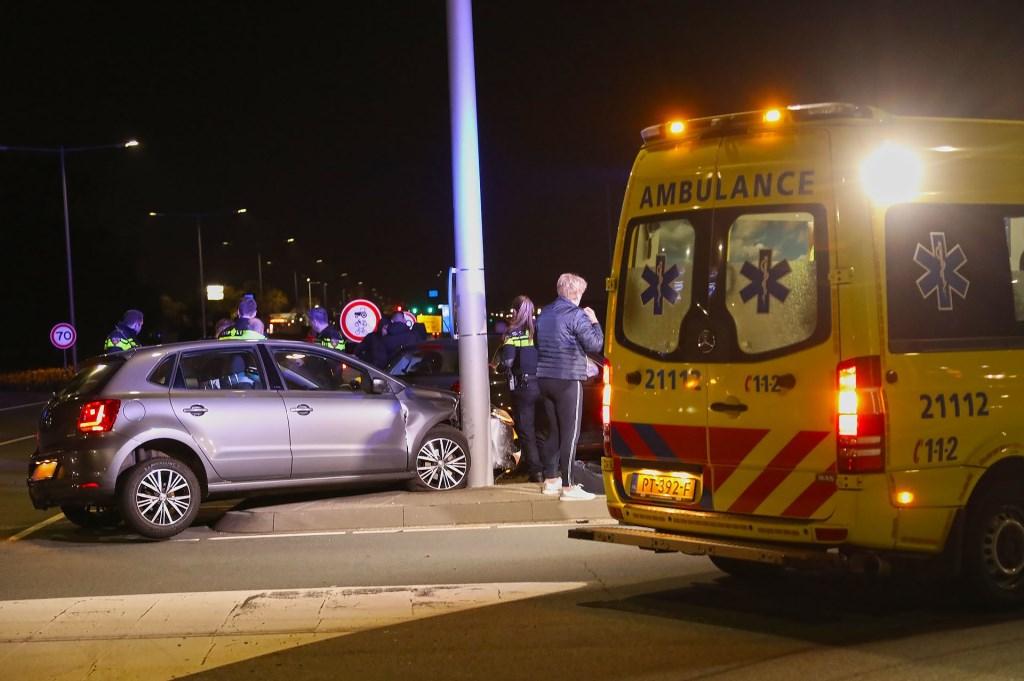 Ongeval op kruising. Foto: Gabor Heeres / Foto Mallo  © 112 Brabantnieuws