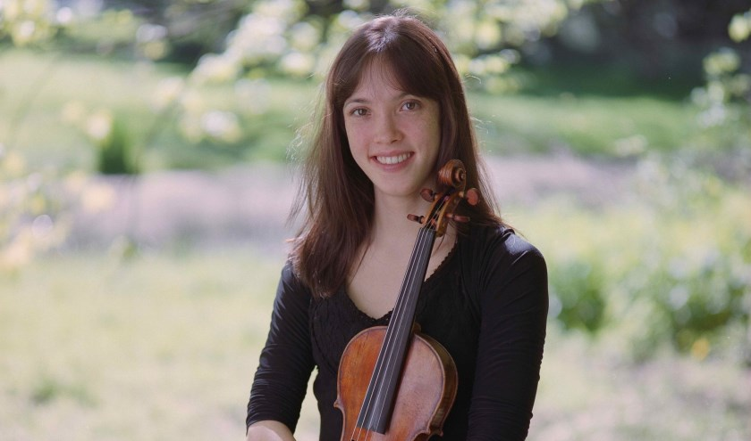 Sylvia leerde het vak van haar vader en op het conservatorium van Brussel (Foto: Clélia Schaeffer).