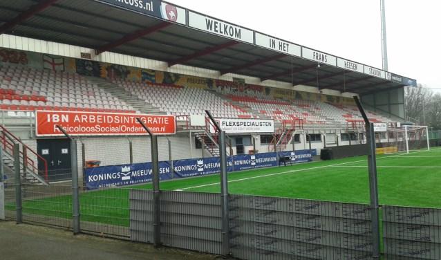 Het Frans Heesen Stadion.