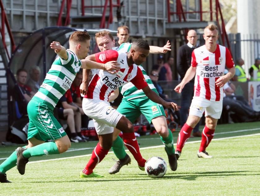 TOP Oss - Go Ahead Eagles. (Foto: Hans van der Poel)