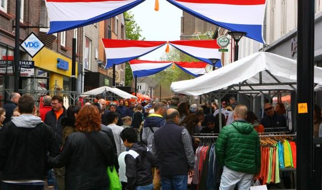 De Koningsmarkt in Oss. (Foto: Hans van der Poel)