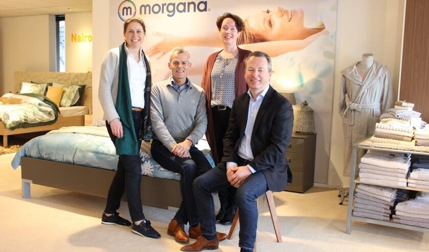 Anke de Best, Rick van Gelder, Willian Arts en Harry Bongaerts.