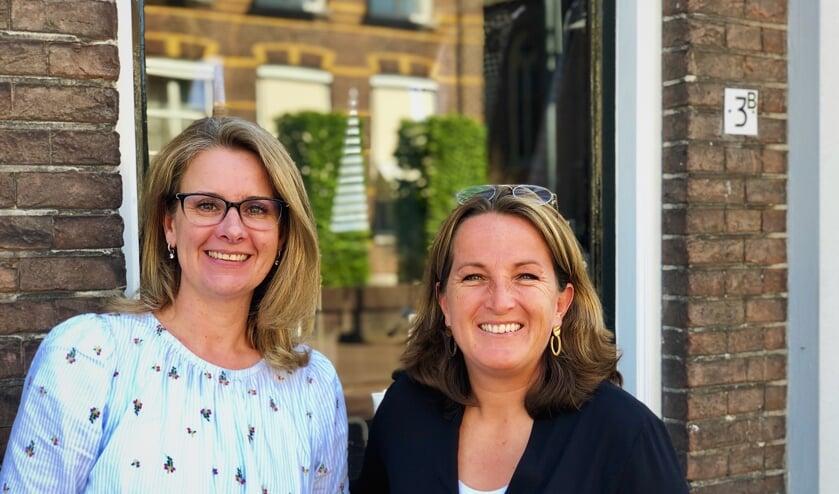 De nichtjes Chantal (L) en Marjon (R) zijn samen eigenaar van Neefjes & Nichtjes.