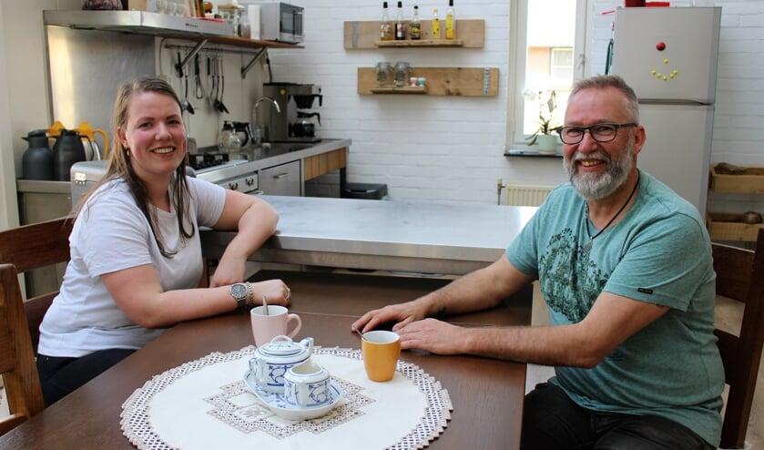 Jens Hoenselaar (links) en Mathijs van Gaal. (foto en tekst: Aileen van Tilburg)