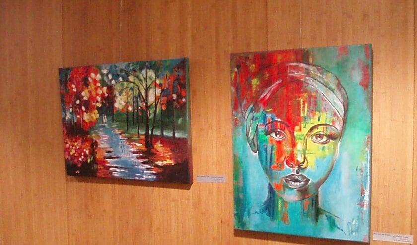Tot en met 9 juni zijn er verschillende schilderijen te bewonderen in Simeonshof in Erp.