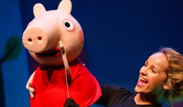 De nieuwe kindershow 'Peppa Big' van Van Hoorne Entertainment.