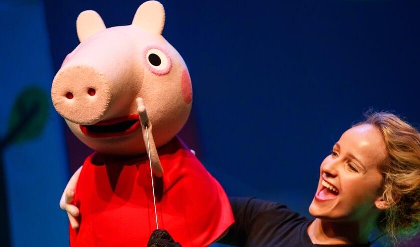 De nieuwe kindershow 'Peppa Big' van Van Hoorne Entertainment.