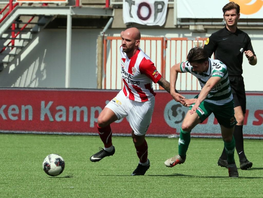 TOP Oss - Go Ahead Eagles. (Foto: Hans van der Poel) Foto: Hans van der Poel 06 31918770 © Kliknieuws Oss