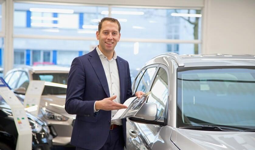 Verkoopadviseur Huib Kessels van Hyundai Van der Heijden in Uden.