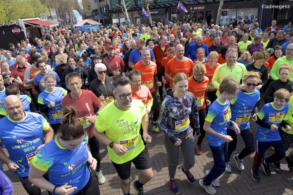 SNS Oss City Run. (Foto Ad Megens)