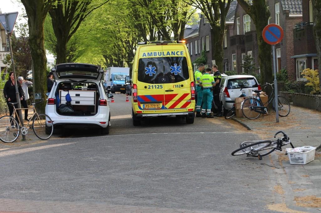 Ongeval op de kruising van de Asterstraat en de Floraliastraat. (Foto: Charles Mallo / Foto Mallo)