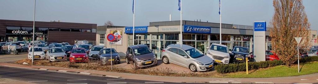 De showroom van Hyundai Van der Heijden in Uden.  © Kliknieuws Uden