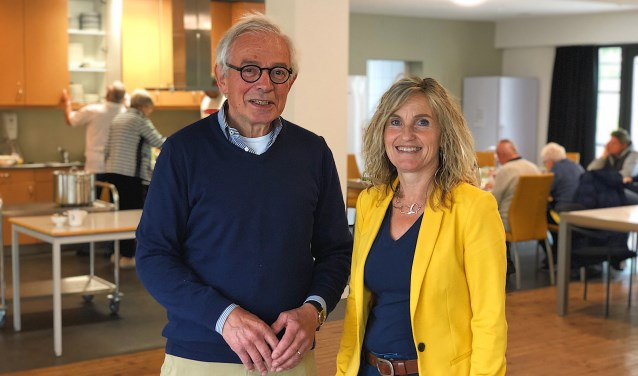 Fer van Campen is voorzitter van het bestuur van de stichting en Mirjam Kooistra is coördinator binnen het PieterBrueghelHuis.