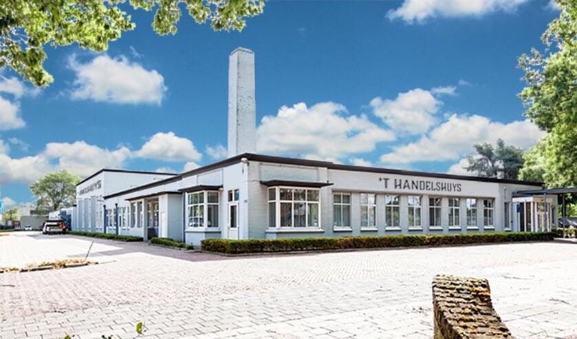 't Handelshuys is gevestigd in het voormalig schoolgebouw van ROC De Leijgraaf
