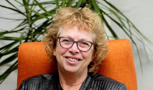 Helga Zöllner runt haar eigen coachings- en therapiepraktijk. (foto en tekst: Kees de Bruijn)