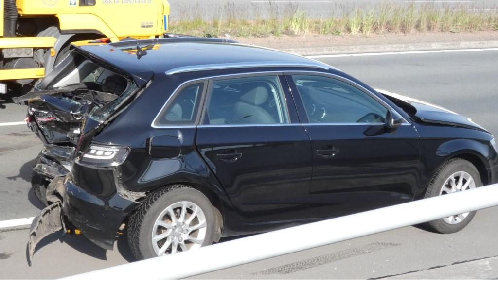 Ongeval op de Graafsebaan. (Foto: Thomas)  © Kliknieuws Oss