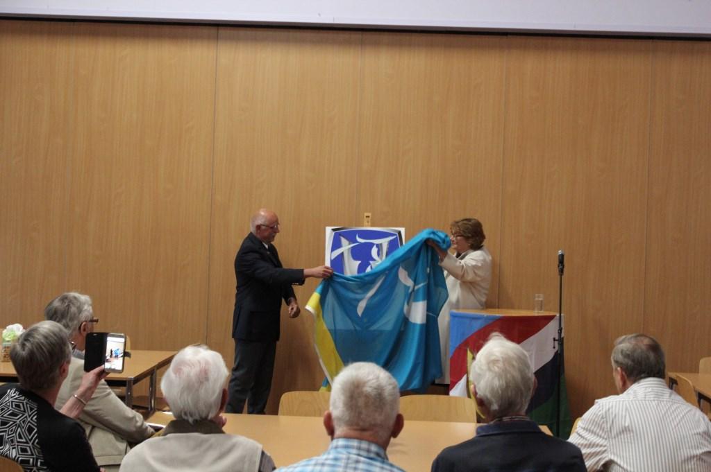 Stichting Veteranen Oss viert oprichting met bekendmaking nieuwe logo  © Kliknieuws Oss