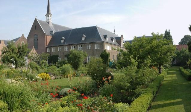Het klooster in Megen.