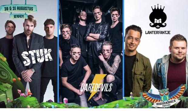 Artiesten naarHoessenbosch Festival