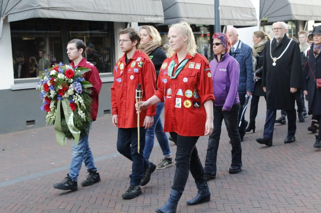 Dodenherdenking in Boxmeer. (foto: Bas Delhij)  © Kliknieuws De Maas Driehoek
