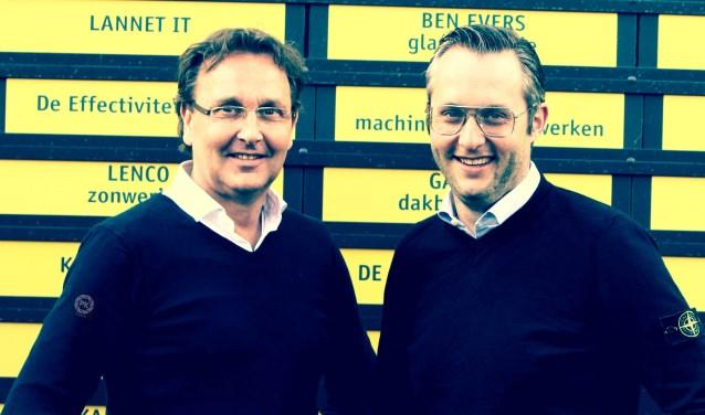 Robbert en Pieter.