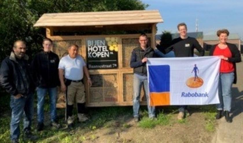 Donatie Rabobank voor inrichting extra werkunits bij sociale onderneming in Overloon.