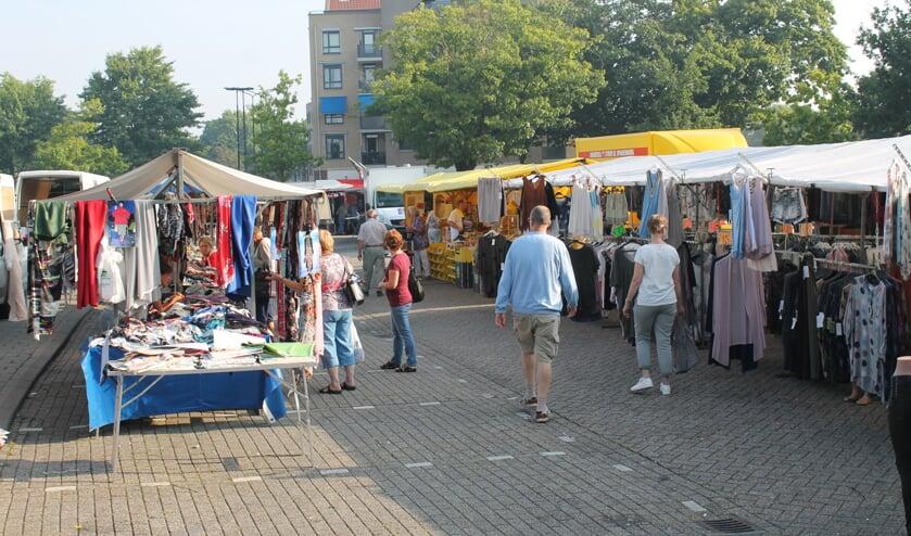 De dinsdagmarkt in Oss.
