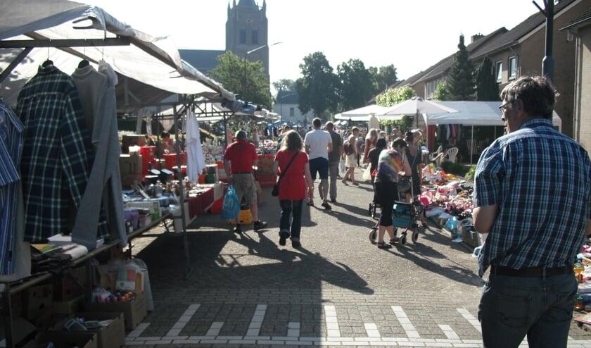 De rommelmarkt in Gassel vindt op zondag 14 juli alweer voor de 25ste keer plaats.