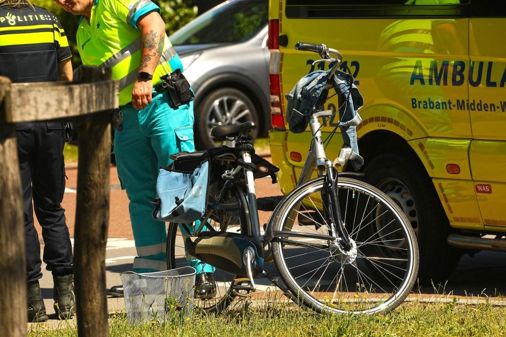 Gewonde bij ongeval in Heesch. (Foto: Gabor Heeres / Foto Mallo)  © Kliknieuws Oss