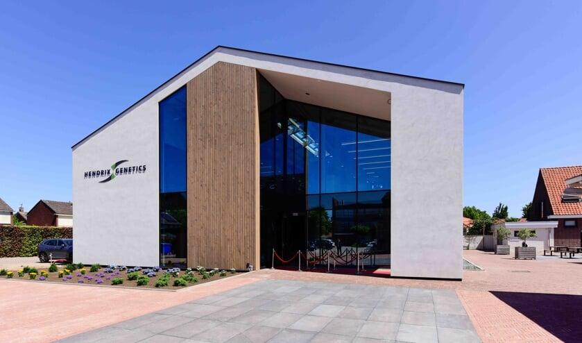 Het nieuwe hoofdkantoor van Hendrix Genetics in Boxmeer.