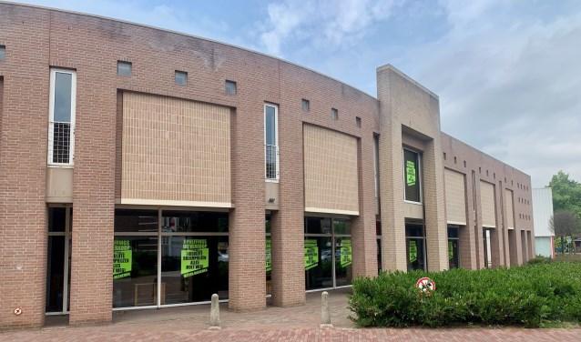 In dit winkelpand aan De Raetsingel in Boxmeer wil Anytime Fitness in het najaar een sportschool openen.