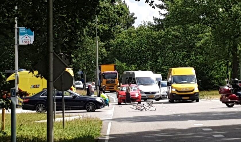Fietser gewond bij ongeval op Julianasingel.