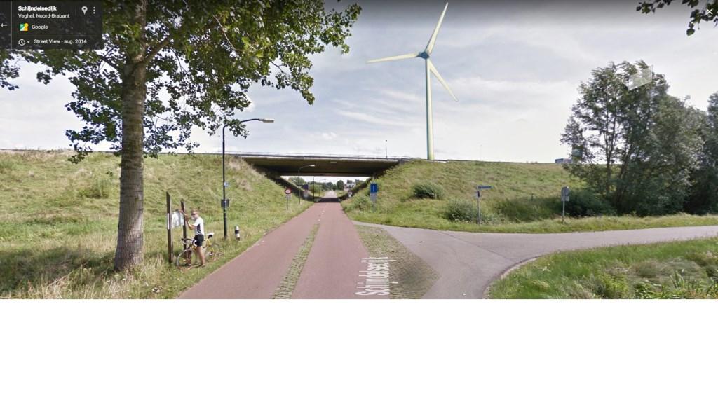 vanaf Veghelsedijk  © Kliknieuws Veghel