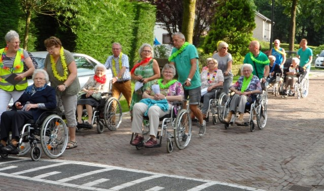 Er zijn ook routes uitgezet voor mensen die afhankelijk zijn van een rolstoel