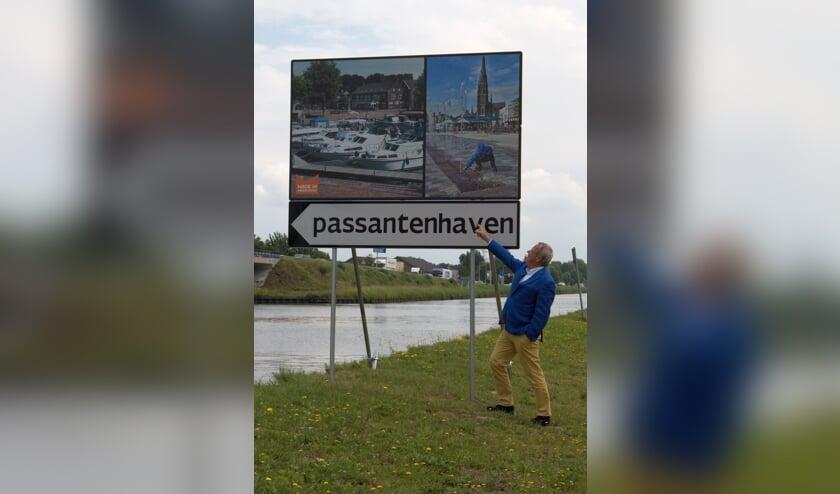 Wethouder Van Rooijen hoopt op een toename van het aantal overnachtingen in de haven.