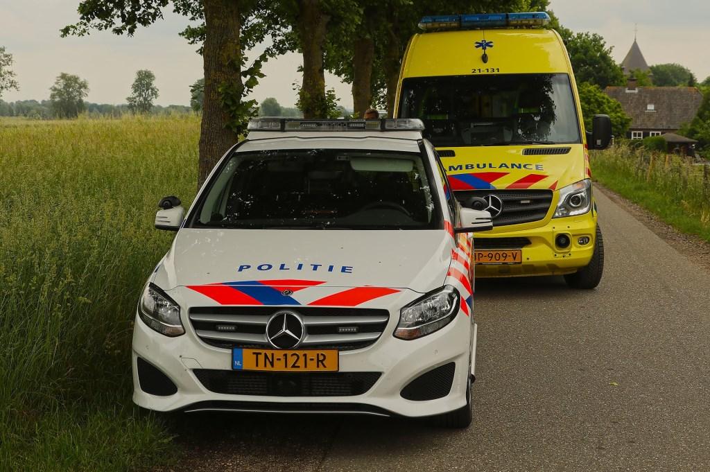 Vrouw gewond bij ongeval op Neerloon. (Foto: Gabor Heeres / Foto Mallo)  © Kliknieuws Oss