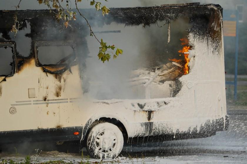 Twee branden in korte tijd in Ravenstein. (Foto: Gabor Heeres / Foto Mallo)
