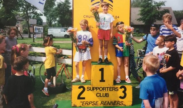 De Dikke Bandenrace in 1993, uiteraard verreden in Erp.