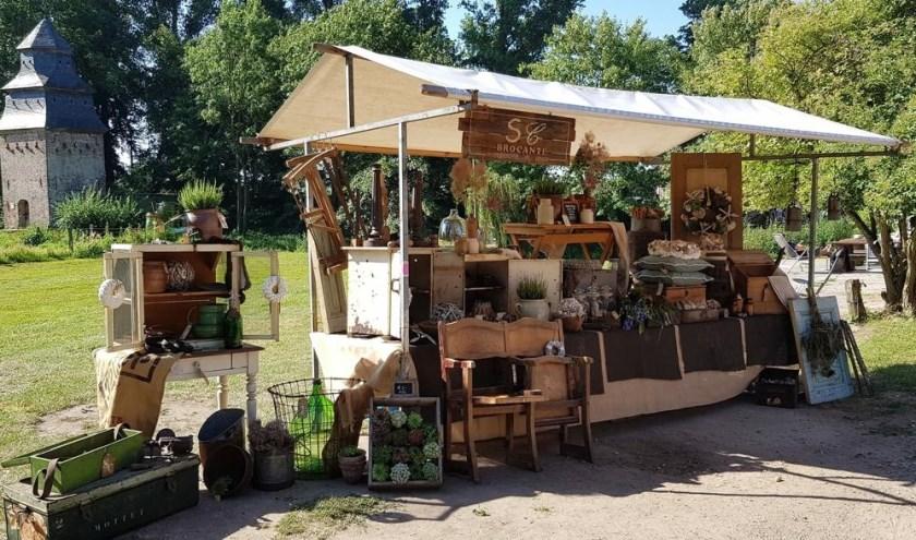 In het weekend van 29 en 30 juni vindt bij Klooster Graefenthal in Goch een Brocante Markt plaats.