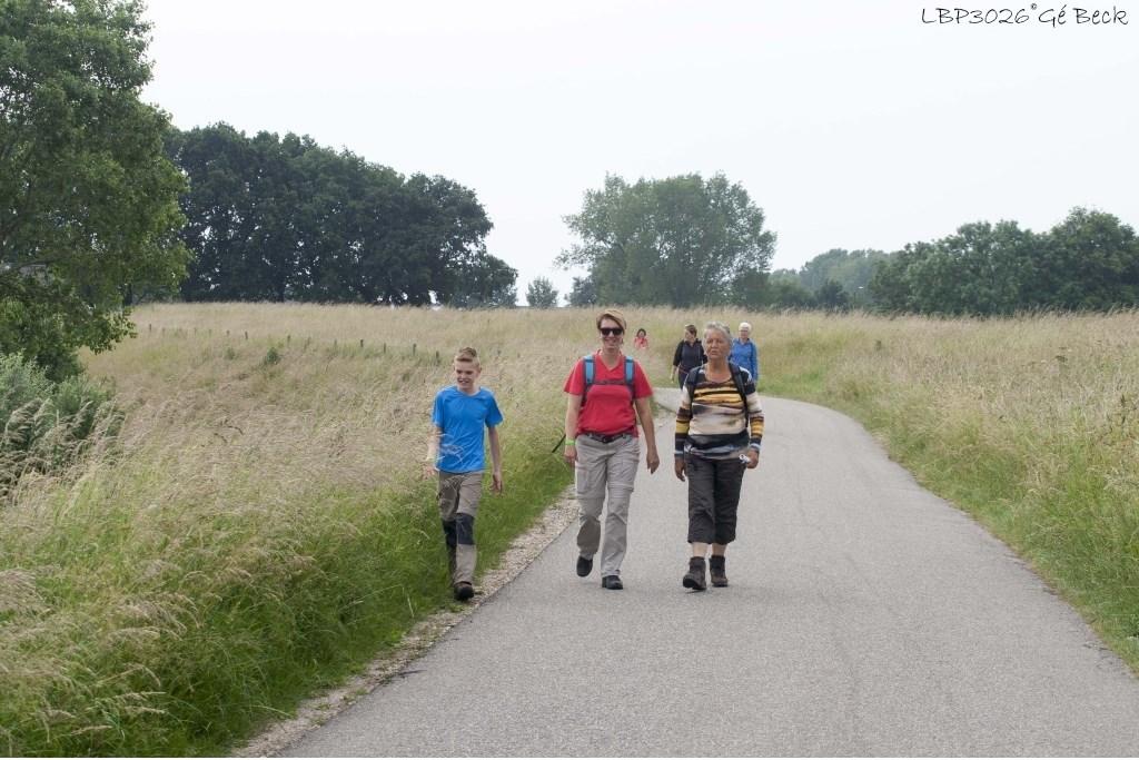 Een eerdere editie van de Maasmeander Wandeling. (Foto: Gerard Beck) Foto:  © Kliknieuws Oss