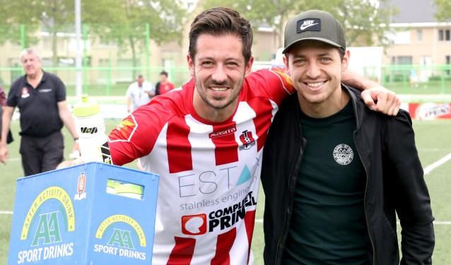 Gijs Appeldoorn en Metin Alkir. (Foto: Pion Steeg)