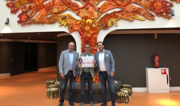 Toine van Os (VANOS), Gert-Jan van Boxel (Villa Pardoes) en Joost van Os (VANOS).