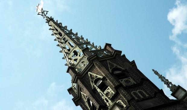 De kerk van Overlangel.