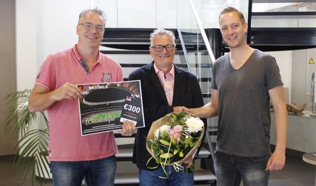 Tom Dominikus, Freddy Kuijpers en Leon Voskamp.
