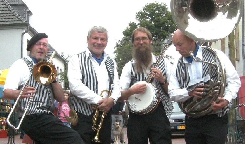 Jazz im Glück speelt tijdens de Duitse dag van SumMmertime.