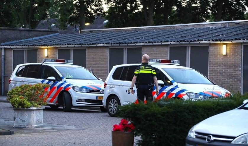 Ontploffing bij appartementencomplex Jakob Goldsmidstraat. (Foto: Gabor Heeres / Foto Mallo)