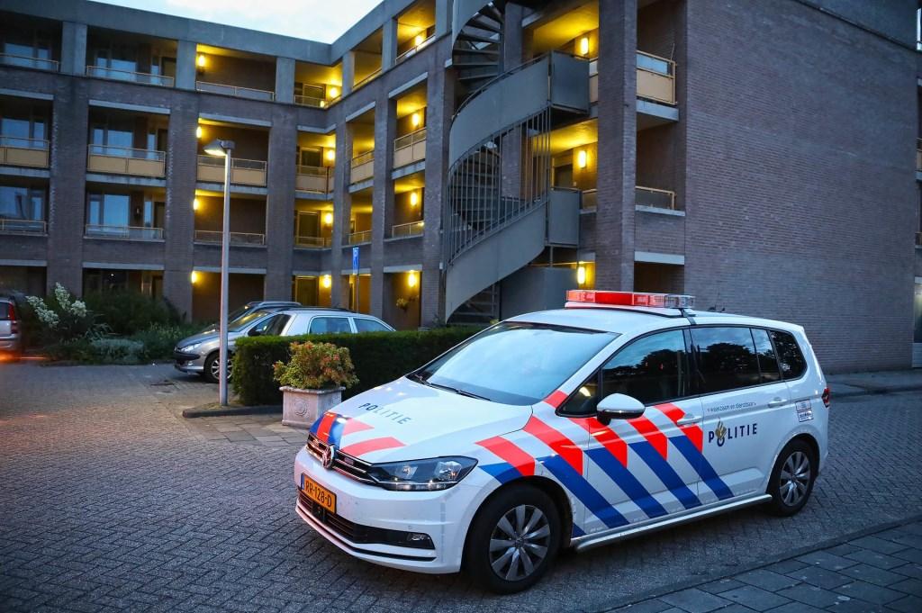 Ontploffing bij appartementencomplex Jakob Goldsmidstraat. (Foto: Gabor Heeres / Foto Mallo)  © Kliknieuws Oss