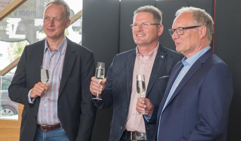 De drie genomineerden (v.l.n.r.): Stijn Heijs, Stephan Hamers en Rob Besemer