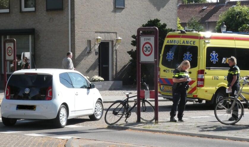 Jongen gewond na ongeval op Burgemeester Ploegmakerslaan. (Foto: Thomas)
