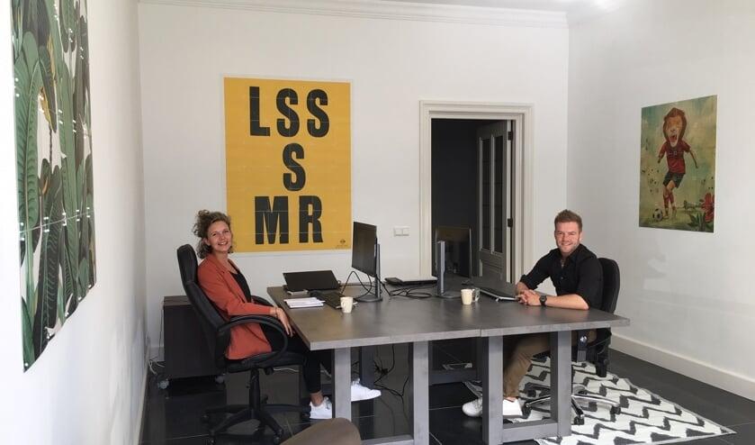 Luc Vaessen en Ingrid van der Heijden zijn gestart met BaanTreffers.